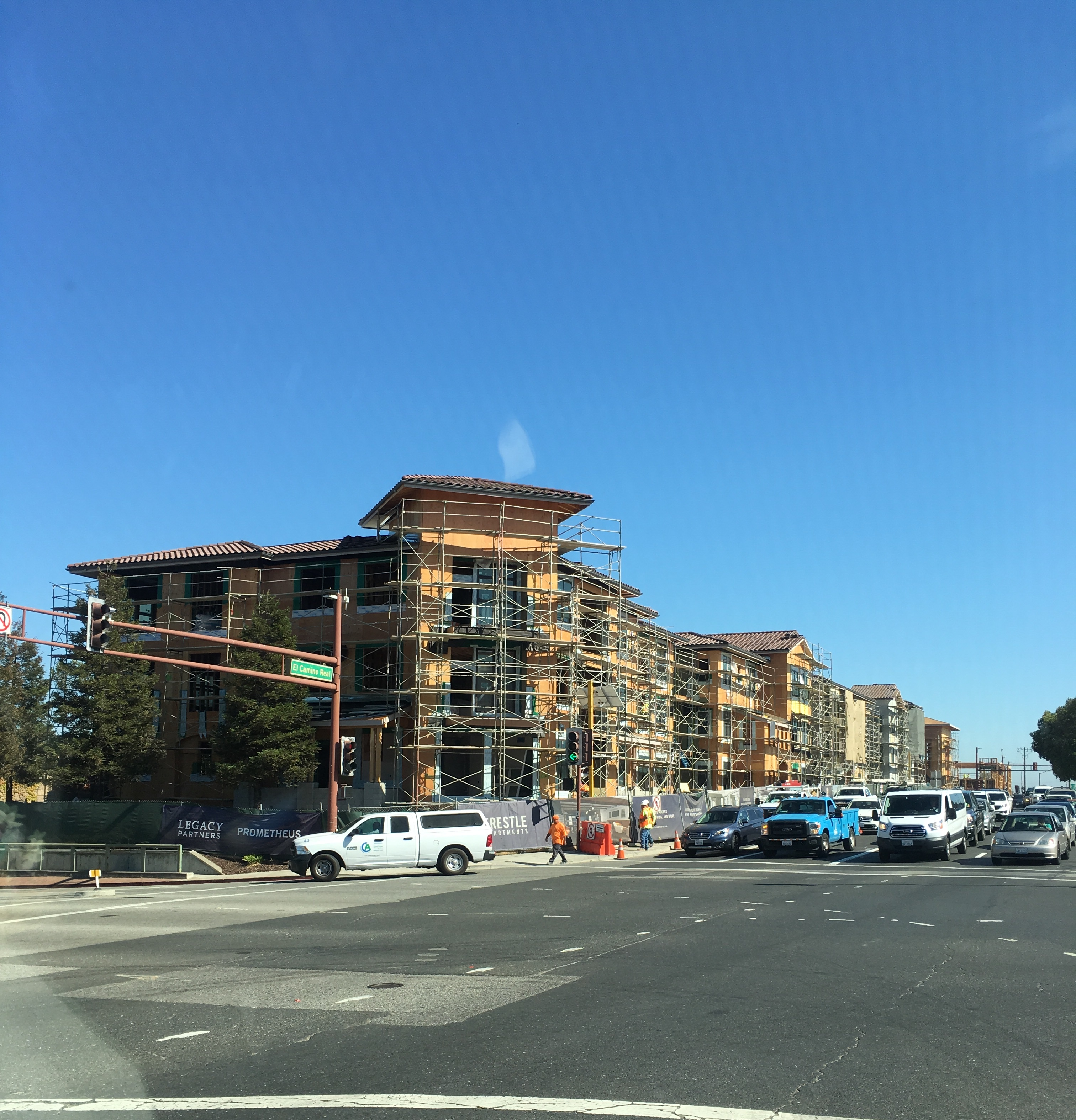 San Carlos Trestle Apartments Nearly Complete