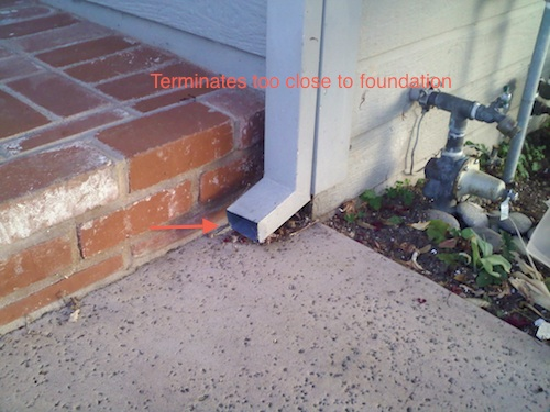 This Old San Carlos House, Part III: Drainage  | The White